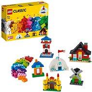 LEGO Classic 11008 Kocky a domčeky - Stavebnica
