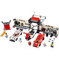 LEGO Speed Champions 75876 Porsche 919 Hybrid a 917K ulička v boxoch - Stavebnica