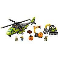 LEGO City 60123 Sopeční prieskumníci, Sopečná zásobovacia helikoptéra - Stavebnica