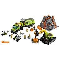 LEGO City 60124 Sopeční prieskumníci, Sopečná základňa prieskumníkov - Stavebnica