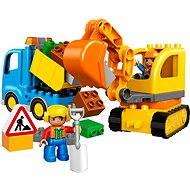 LEGO DUPLO 10812 Pásový bager a nákladiak - Stavebnica
