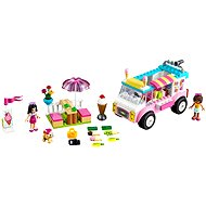 LEGO Juniors 10727 Emma a zmrzlinárskej dodávka - Stavebnica