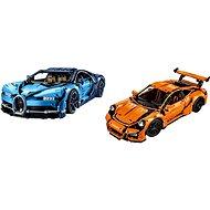 LEGO Technic 42056 Porsche 911 GT3 RS + LEGO Technic 42083 Bugatti Chiron - Herná súprava