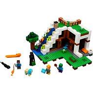 LEGO Minecraft 21134 Základňa vo vodopáde - Stavebnica