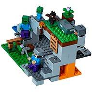 LEGO Minecraft 21141 Jaskyňa so strašidlami - Stavebnica