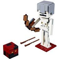 LEGO Minecraft 21150 Minecraft veľká figúrka: Kostlivec s pekelným slizom - Stavebnica