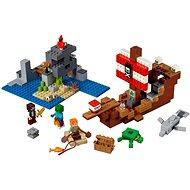 LEGO Minecraft 21152 Dobrodružstvo pirátskej lode - Stavebnica