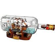 LEGO Ideas 21313 Loď vo fľaši - Stavebnica