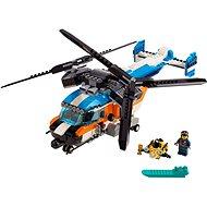 LEGO Creator 31096 Helikoptéra s dvoma rotormi - Stavebnica