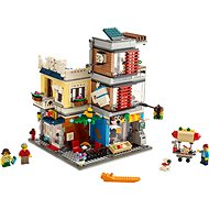 LEGO Creator 31097 Zverimex s kaviarňou - Stavebnica