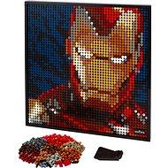 LEGO ART 31199 Iron Man od Marvelu - LEGO stavebnica