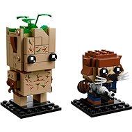 LEGO BrickHeadz 41626 Groot a Rocket - Stavebnica