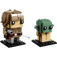LEGO BrickHeadz 41627 Luke Skywalker a Yoda - Stavebnica