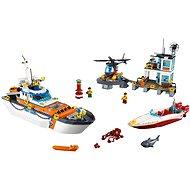 LEGO City Coast Guard 60167 Základňa pobrežnej hliadky - Stavebnica