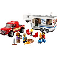 LEGO City 60182 Pick-up a karavan - Stavebnica