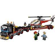 LEGO City 60183 Ťahač na prepravu ťažkého nákladu - Stavebnica