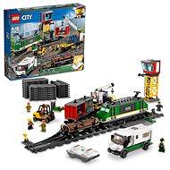 LEGO City Trains 60198 Nákladný vlak - Stavebnica