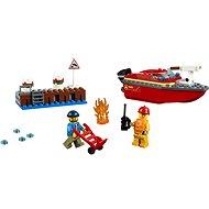 LEGO City 60213 Požiar v prístave - Stavebnica