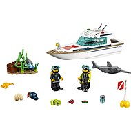 LEGO City 60221 Potápačská jachta - Stavebnica