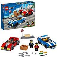 LEGO City Police 60242 Policajná naháňačka na diaľnici - LEGO stavebnica