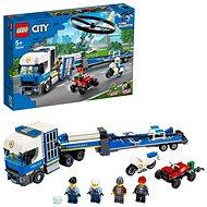 LEGO City Police 60244 Preprava policajního vrtuľníka - LEGO stavebnica