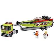 LEGO City Great Vehicles 60254 Preprava pretekárskeho člna - Stavebnica