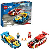 LEGO City Nitro Wheels 60256 Pretekárske autá - LEGO stavebnica