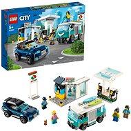 LEGO City Nitro Wheels 60257 Benzínová stanica - LEGO stavebnica