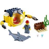 LEGO City 60263 Oceánska mini ponorka - LEGO stavebnica