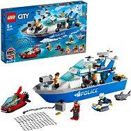 LEGO City 60277 Policajná hliadková loď
