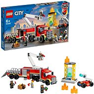 LEGO City 60282 Veliteľská jednotka hasičov