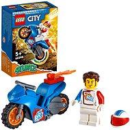 LEGO® City 60298 Kaskadérska motorka s raketovým pohonom