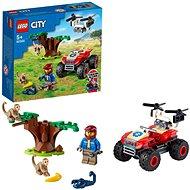 LEGO® City 60300 Záchranárska štvorkolka do divočiny - LEGO stavebnica