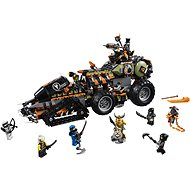 LEGO Ninjago 70654 Dieselnaut - Stavebnica