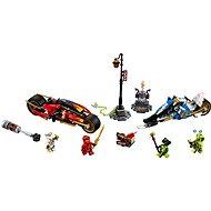 LEGO Ninjago 70667 Kaiova motorka s čepeľami a Zaneov snežný voz - LEGO stavebnica