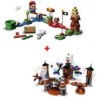 LEGO® Super Mario™ 71360 Štartovacia sada + 71377 Kráľ Boo a strašidelný dvor