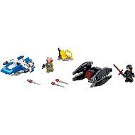 LEGO Star Wars 75196 A-Wing mikrostíhačka A-Wing vs. mikrostíhačka TIE Silencer