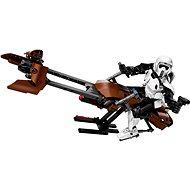 LEGO constraction Star Wars 75532 Prieskumný vojak a speederová motorka - Stavebnica