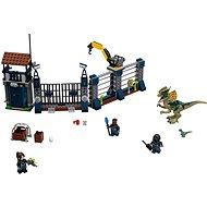 LEGO Jurský Svet 75931 Útok Dilophosaura na hliadku - Stavebnica