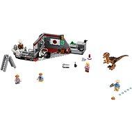 LEGO Jurský Svet 75932 Jurský park: Lov Velociraptora - Stavebnica
