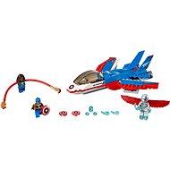 LEGO Super Heroes 76076 Kapitán America a naháňačka v stíhačke - Stavebnica