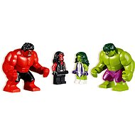 LEGO Super Heroes 76078 Hulk vs. červený Hulk - Stavebnica