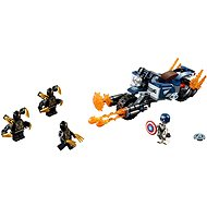 LEGO Super Heroes 76123 Captain America: útok Outriderov - LEGO stavebnica