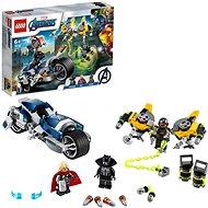 LEGO Super Heroes 76142 Avengers: Zbesilý útok na motorke - Stavebnica