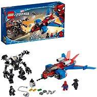 LEGO Super Heroes 76150 Spiderjet vs Venomov robot - Stavebnica