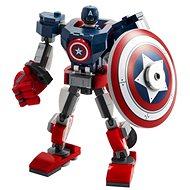 LEGO Super Heroes 76168 Captain America v obrnenom robotovi
