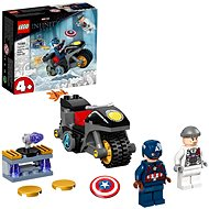 LEGO Super Heroes 76189 Captain America vs. Hydra - LEGO stavebnica