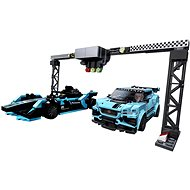 LEGO Speed Champions 76898 Formula E Panasonic Jaguar Racing GEN2 car & Jaguar I-PACE eTROPHY - LEGO stavebnica