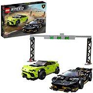 LEGO Speed Champions 76899 Lamborghini Urus ST-X & Lamborghini Huracán Super Trofeo EVO - LEGO stavebnica