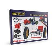 Stavebnica Merkur – elektromotorček a prevody - Stavebnice